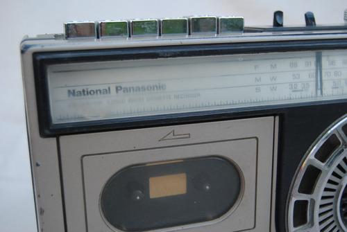 radio nat. panasonic antigua vintage decoracion no funciona
