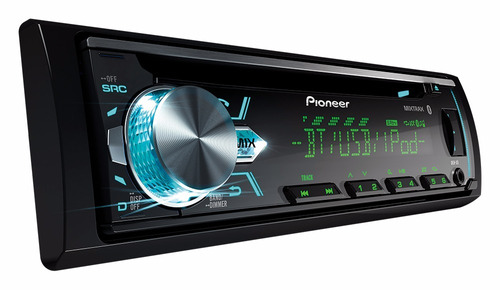 radio pioneer deh x5 cd usb aux bluetooth mixtrax + control