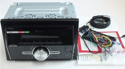 radio pioneer doble din fh-x755bt + parlantes 5   1315