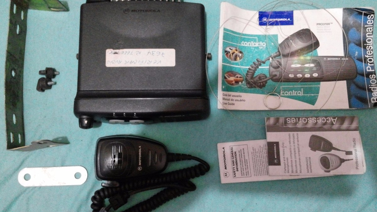 r dio px motorola pro 3100 vhf 04 canais completo com manual r rh produto mercadolivre com br User Manual Jabra Bluetooth Manual