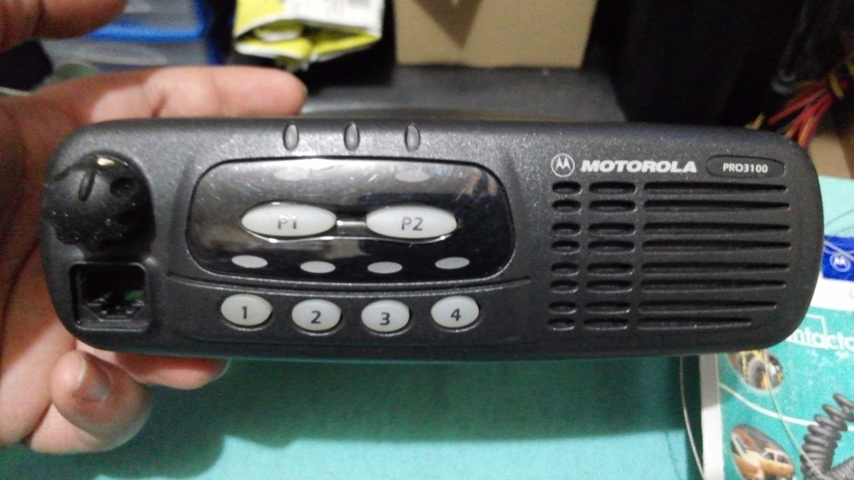 r dio px motorola pro 3100 vhf 04 canais completo com manual r rh produto mercadolivre com br Jabra Bluetooth Manual radio motorola pro 3100 manual