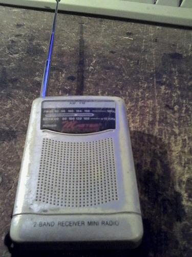 radio receptor am fm de bolsillo