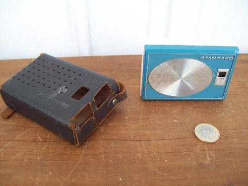 radio transistor standard radio corp japan model sr f412