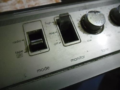 radiograbador sharp gf 2500  2 way speaker system funciona