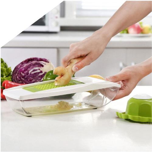 rallador corta ralla ensaladas verduras y frutas - narvaja
