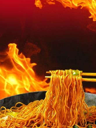ramen coreano salteado wok hot chicken | bag