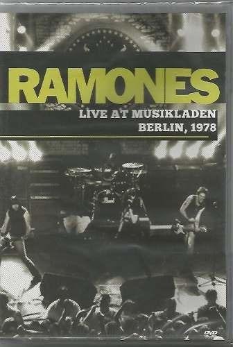 ramones - live at musikladen berlin, 1978 - dvd
