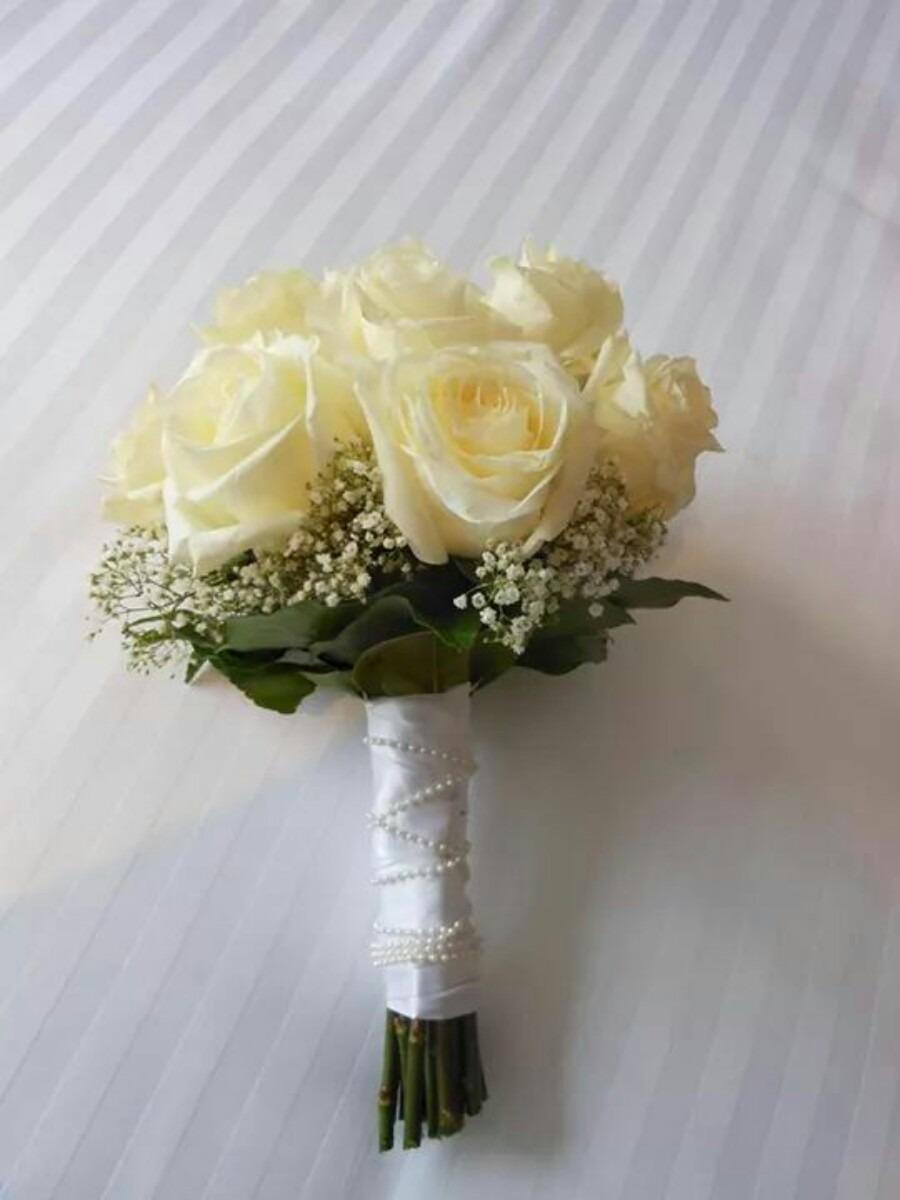 ramos de novias con flores arreglos florales iglesias en mercado libre. Black Bedroom Furniture Sets. Home Design Ideas