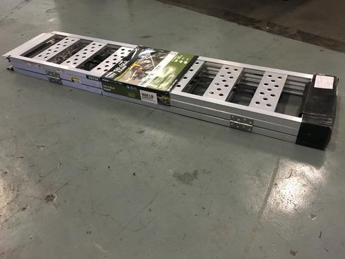 rampas de aluminio para cuatriciclo,corta pasto, muy liviana