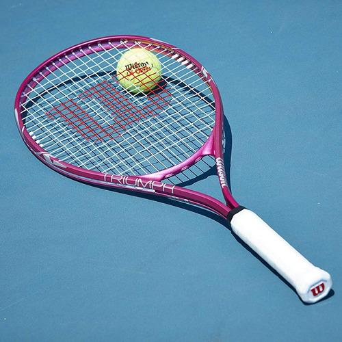 raqueta de ténis wilson triumph para dama encordada