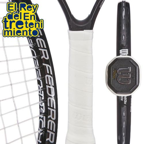 raqueta ténis wilson federer para niño + funda - el rey