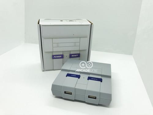 raspberry pi 3 + recalbox + joystick snes y arcade