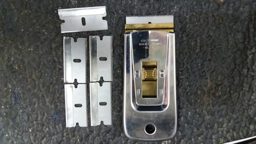 rasqueta cuchilla para vidrios quita pintura metalica colad