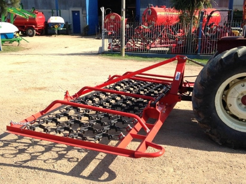 rastra cadena agrional 6 mts de 3 pts maquinaria agrícola