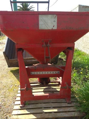 rastras de disco y pinchos, zorra, fertilizadora/sembradora