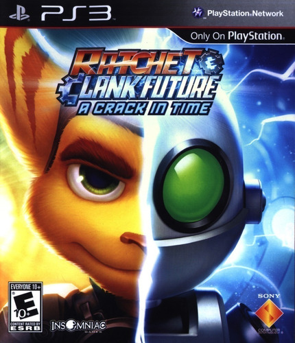 ratchet & clank future: a crack in time juego ps3