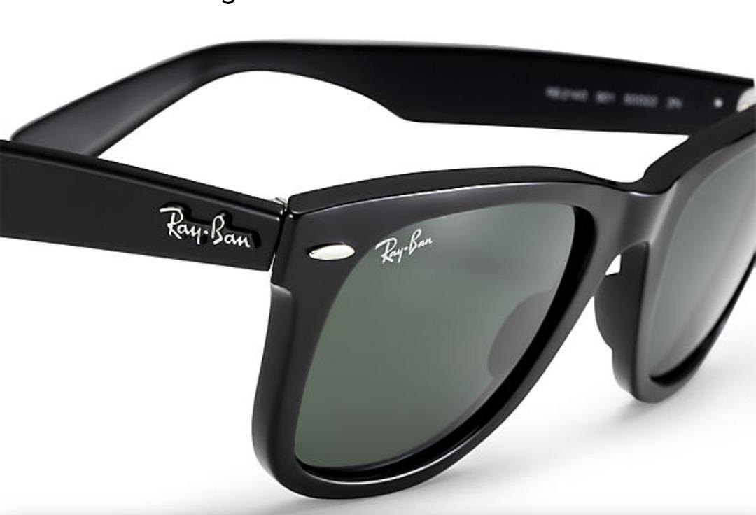c25a5c5fcb Ray Ban Wayfarer Rb2140 901 50/22 - $ 4.100,00 en Mercado Libre