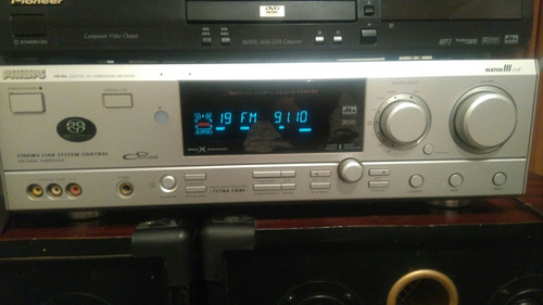 receiver philips fr-996 500w