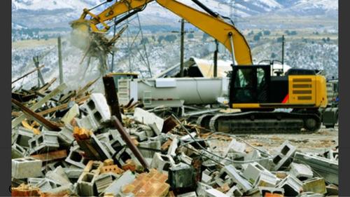 recibo escombros para relleno de terreno en colonia del sacr
