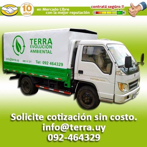 recoleccion de basura y residuos comerciales mvdeo canelones