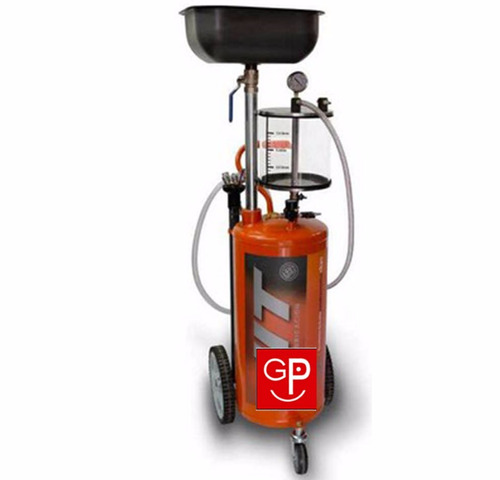 recolector de aceite con desc.manual 60lts jit g p