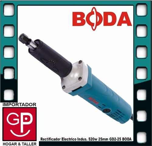 rectificadora industrial boda gd2-25 25mm 520w g p
