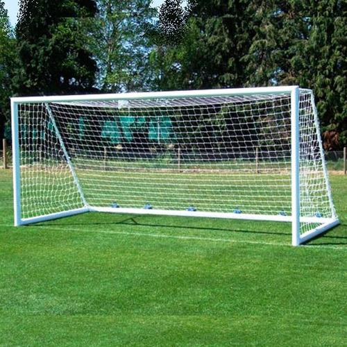 red para arco de fútbol 11 medida oficial 7.30x2.55 - el rey