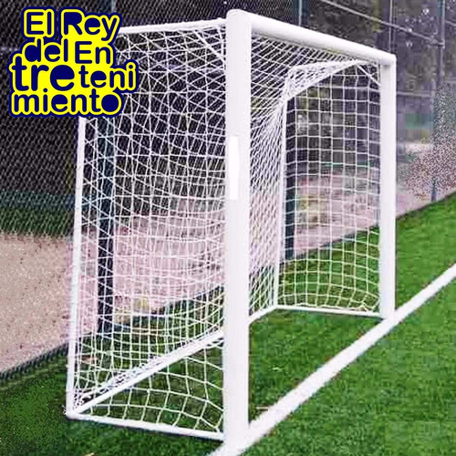 red para arco de fútbol 5, salón o handball 3x2 mts - el rey
