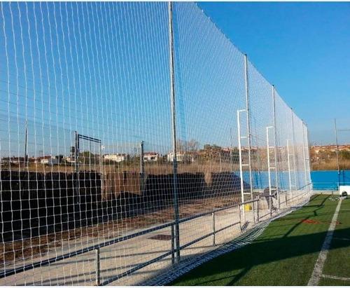rede de proteção r$ 1,99m² - quadras e campos fio 2mm nylon