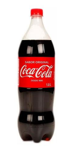 refresco coca cola 1.5 litros descartable