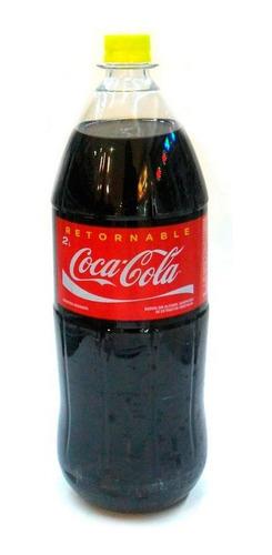 refresco coca cola 2 litros retornable