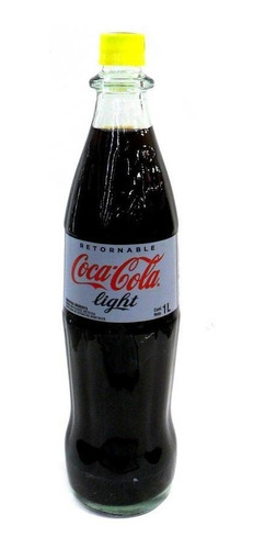 refresco coca cola light 1 litro retornable