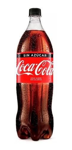 refresco coca cola sin azúcar 2.25 litros descartable