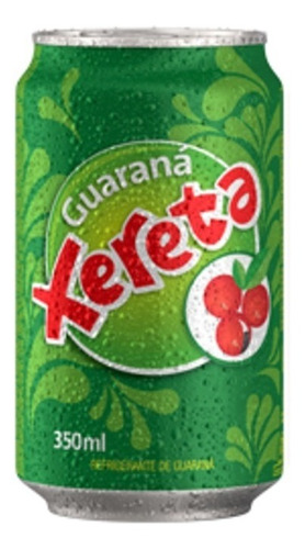 refresco xereta sabor guarana lata 350ml funda x6u