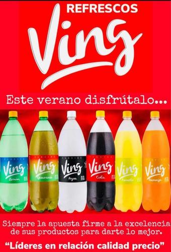refrescos ving busca distribuidor en tacuarembó