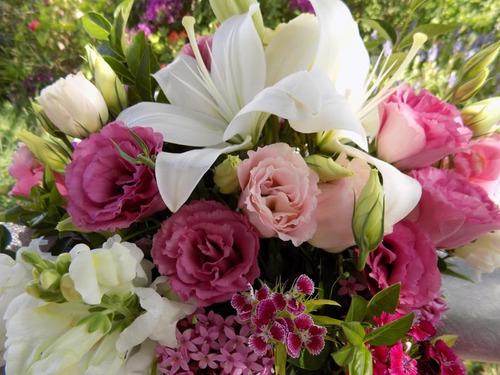 regalo día del maestro maestra arreglo floral ramo flores