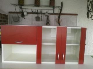 Regalooo!!!! Mueble De Cocina Puertas De Vidrio - $ 4.500,00 en ...