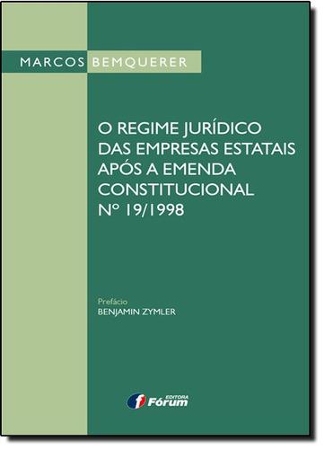 regime jurídico das empresas estatais após a emenda constitu
