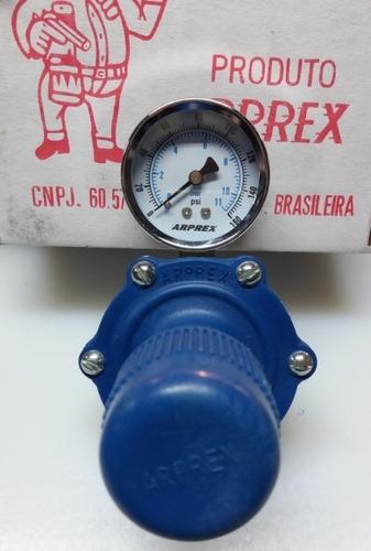 regulador de presión con manómetro arprex vcm  herracor