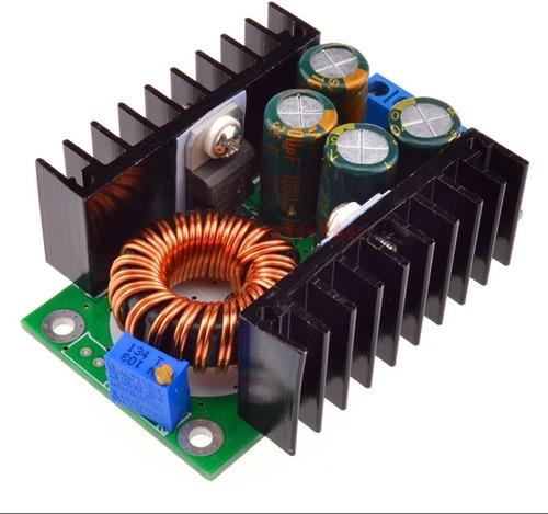 regulador de tensão step down dc 9a 300 w (1.2v - 35 vcc)