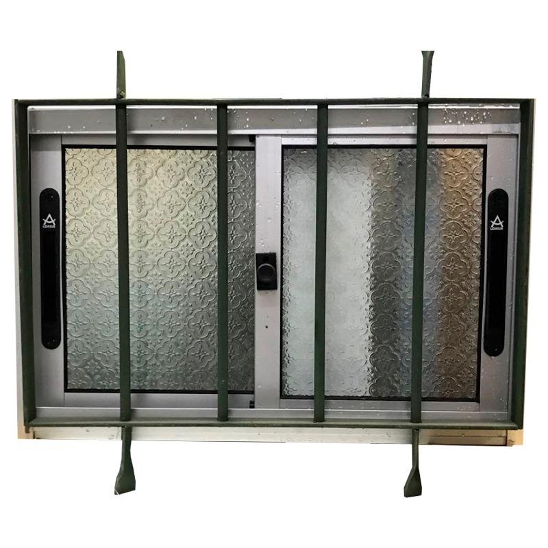 Reja ventana de aluminio para ba o medidas x for Medidas de ventanas de aluminio para bano