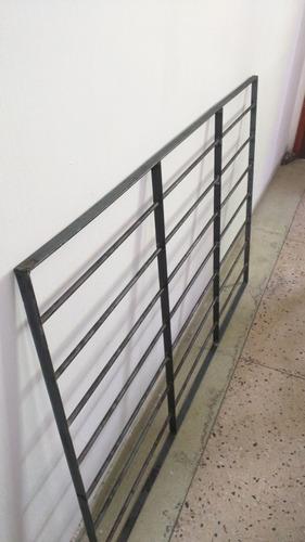 rejas para ventana 1.30 x 1.50 barrote de 16 mm