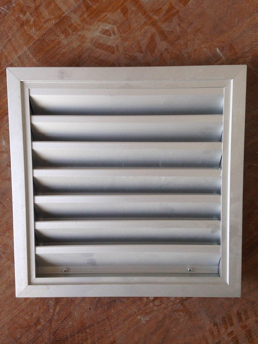 rejilla aluminio ventilaci n 30 x 30 hacemos otras medidas 750 00 en mercado libre. Black Bedroom Furniture Sets. Home Design Ideas