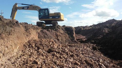 relleno limpieza terrenos constr represas y tajamares