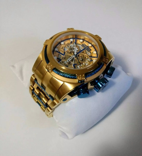 relógio invicta bolt zeus 12900 azul original ref576 lindo