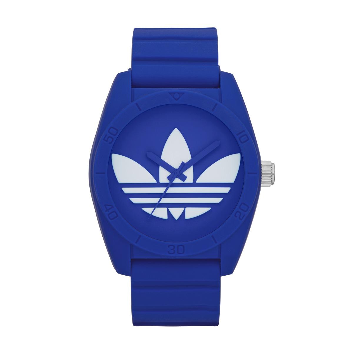wholesale dealer 1471e c9d60 reloj adidas originals santiago azul y blanco en silicona. Cargando zoom.