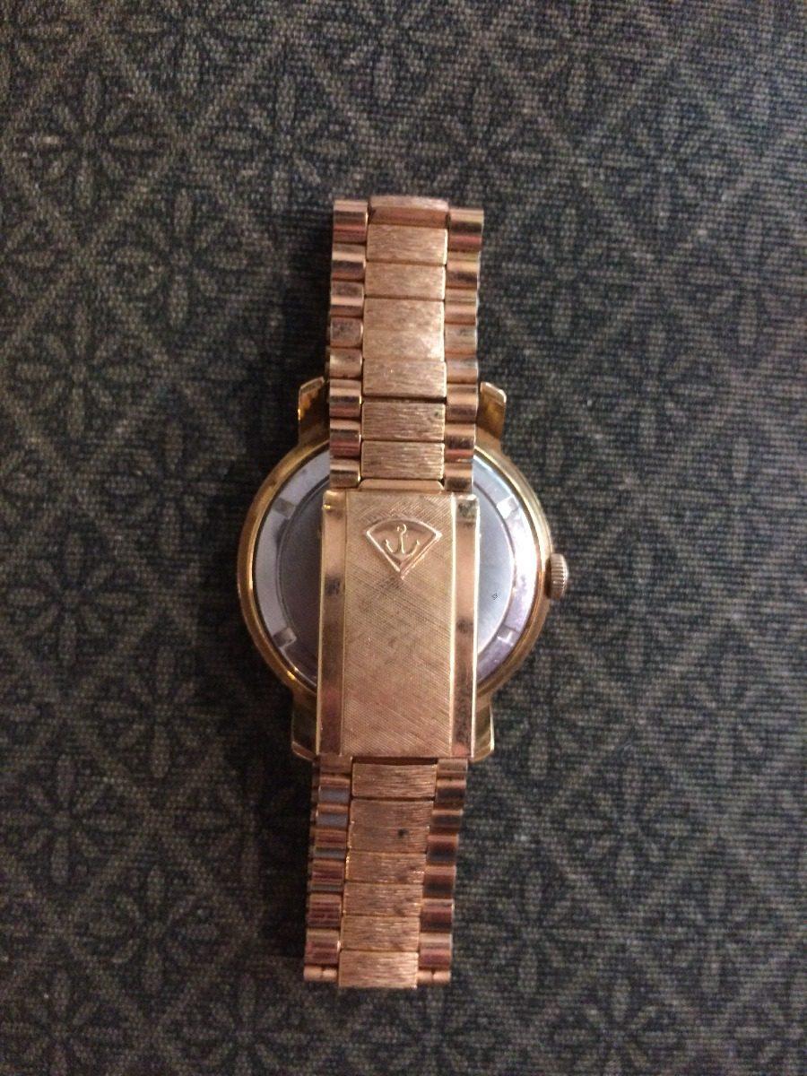 dc5f67f85b01 reloj antiguo a cuerda desta enchapado en oro. Cargando zoom.