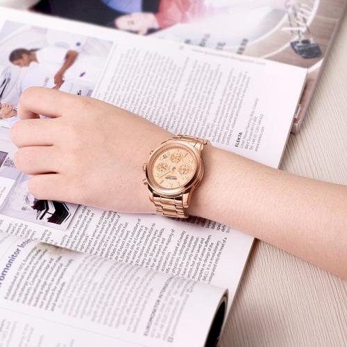 reloj calendario megir modelo 2057 gxi  - original