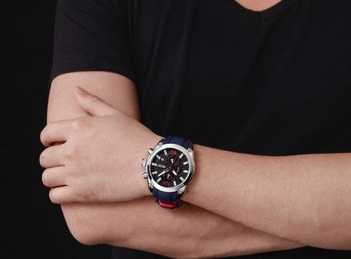 reloj calendario megir modelo 2063 sysa  - original