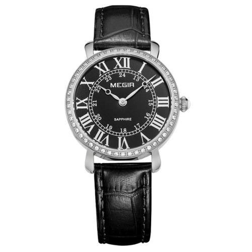 reloj calendario megir  modelo 4105syn - original